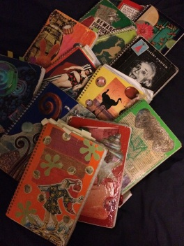Some of my older notebooks