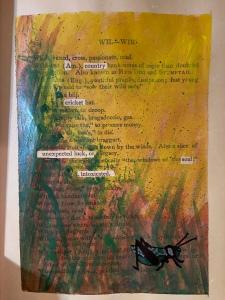 Spring Haiku Black out poem